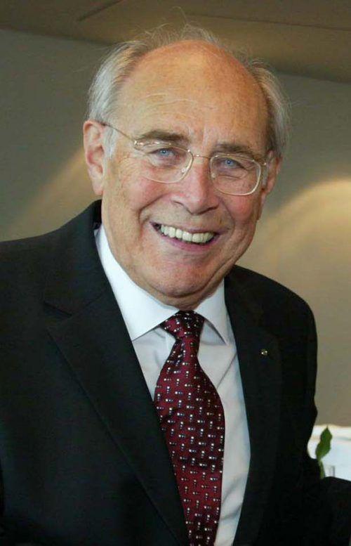 Luis Drexel, 95, sieht in der Spar-Zentrale regelmäßig nach dem Rechten. FA