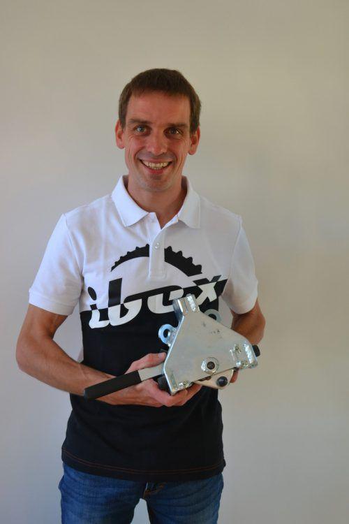 Lukas Schrottenbaum freut sich auf die Eröffnung des neuen Firmenstandorts in Bings. BI