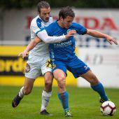 FC Lustenau mit Prestigesiegzur Herbstmeisterschaft