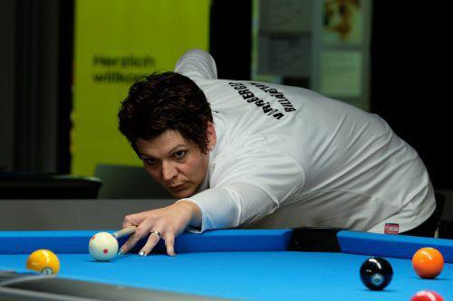 Marion Dressel gewann zum Abschlussden 9er-Ball-Titel. ÖBU_AK