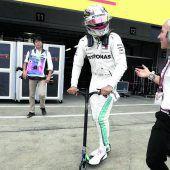 Hamilton im Rausch,Vettel ratlos