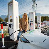 Ultraschnelles Tanken für Elektroautos in Hohenems