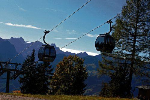 Mit der Muttersbergbahn gondelt man am Freitag zur Lehrlingsmesse im Alpengasthof. Muttersberg