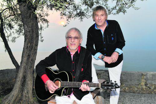 """Mit seinem neuen Album """"110 Karat"""" geht das erfolgreiche Schlagerduo """"Die Amigos"""" im kommenden Jahr auf große Tournee.veranstalter"""