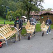 LutrachBänkle fürs Kinderdorf