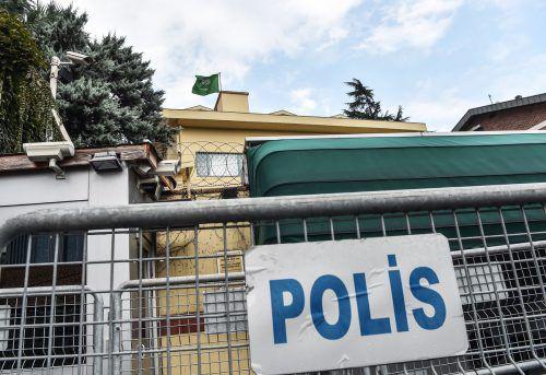 Nach türkischen Angaben hat Khashoggi das Konsulat nicht verlassen. AFP