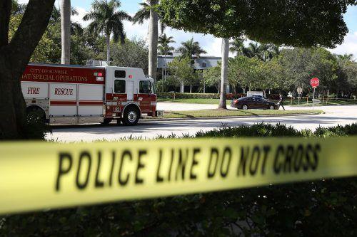 Nach verdächtigen Paketen wurde auch in Florida gesucht. Dort war eines an die Demokratin Debbie Wassermann Schultz adressiert.ap