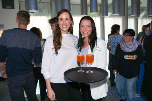 Nathalie Roithinger (l.) und Danielle Bidebach (Neue).