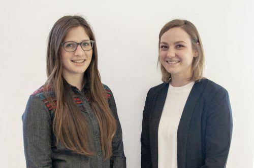 Neuzugänge: Anne Diegel und Lena-Sophia Nachbaur. zurgams