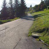 Kugelweg in Fraxern wird ab Frühjahr 2019 saniert