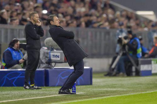 Niko Kovac lebt am Spielfeldrand mit. Gegen Ajax aber sah er eine immer schwächer werdende Bayern-Mannschaft.afp