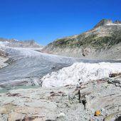 Schweizer Gletscher verlieren massiv an Eis