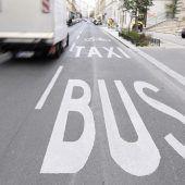 E-Autos künftig auf der Busspur unterwegs