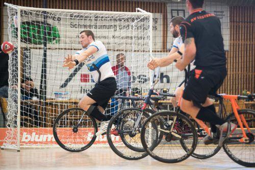 Patrick Schnetzer holte sich mit Markus Bröll den vierten Staatsmeistertitel. Zuvor hatte Schnetzer mit Dietmar Schneider 2011 und 2012 Gold gewonnen.VN/Sams