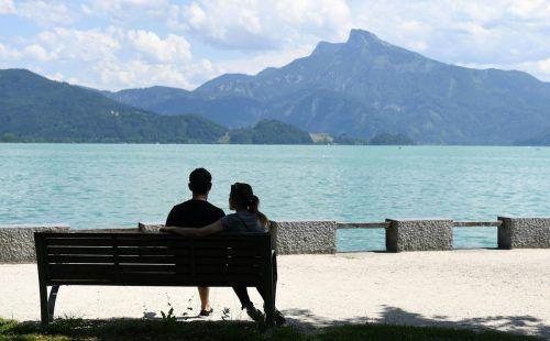 Platz zwei für Österreichs Seen und Flüsse bei der Sauberkeit. APA