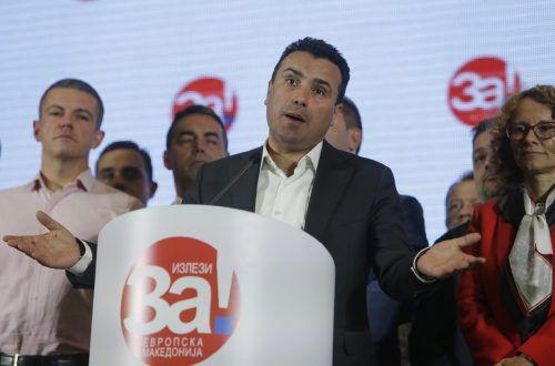 Premierminister Zoran Zaev ist für eine Namensänderung des Landes. ap