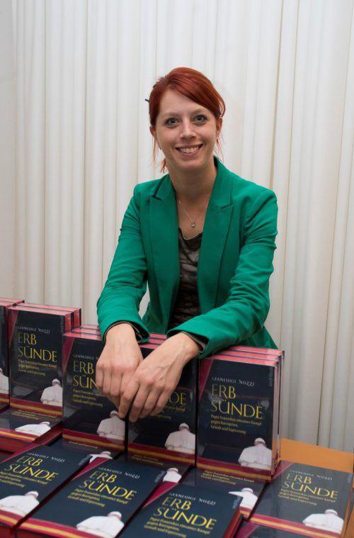 Rebecca von der Thannen (Das Buch) organisierte den Abend.