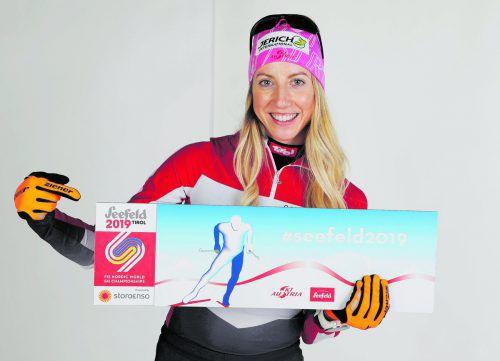 """""""Rookie des Jahres"""" im Nordischen Skisport: Teresa Stadlober. gepa"""