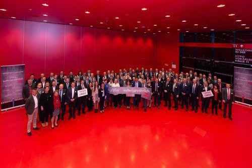 Rund 120 selbstständige Spar-Kaufleute und die Spitze von Spar Österreich diskutierten in Dornbirn über die Zukunft des Einzelhandels und die Pläne von Spar. Uher