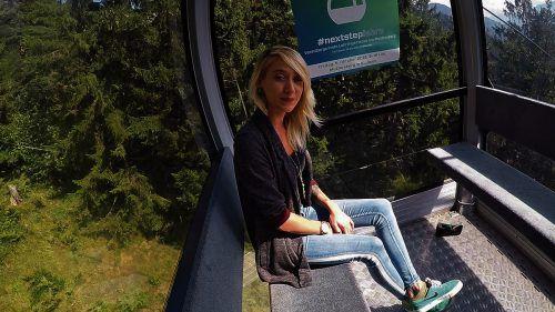 Schon bei der Bergfahrt auf den Muttersberg bieten sich Gelegenheiten zu Gesprächen.