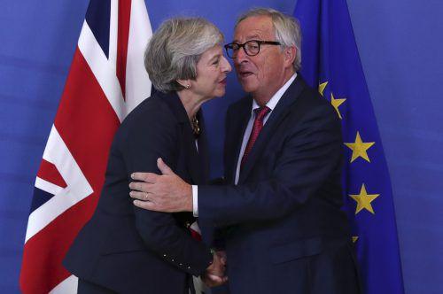Schon seit Monaten verhandeln Brüssel und London über einen Deal. Ein Ergebnis liegt noch immer nicht vor. AFP