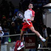 Djokovic mit Titel Nummer vier