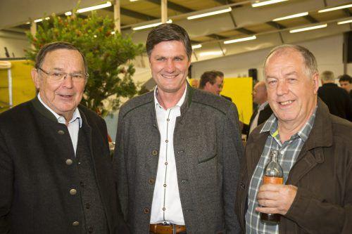 Seniorchef Lothar Tomaselli, Daniel Allgäuer und Josef Beck.