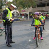 Junge Lustenauer fit fürs Fahrrad gemacht