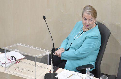 Sozialministerin Beate Hartinger-Klein hat die Gesetzesentwürfe zur Kassenreform Mitte September in Begutachtung geschickt. Diese endet am Freitag.APA