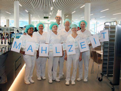 Speisesaaleröffnung entpuppte sich als Freudentag für Spitalsküchenleiter Markus Adlassnigg und sein Team. KHBG