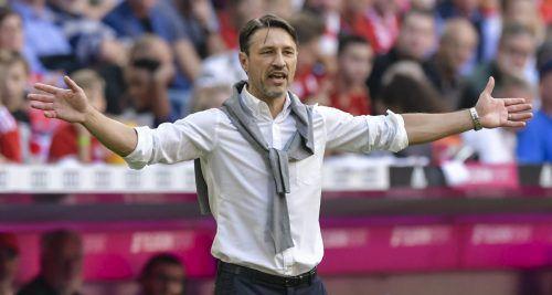 Spürt erstmals den Gegenwind in München: Trainer Niko Kovac.afp