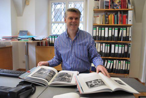 Stadtarchivar Werner Matt referiert am 7. November bei der Geschichtswerkstatt. erh
