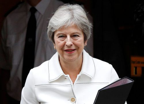 Theresa May ist zuversichtlich, eine Einigung mit der EU zu erreichen.Reuters