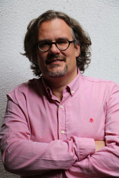 Thomas Schmidinger referiert am Dienstag im Carl-Lampert-Saal.privat