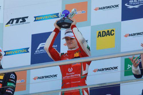 Titel und Super-Lizenz für die Formel 1: Mick Schumacher.noger
