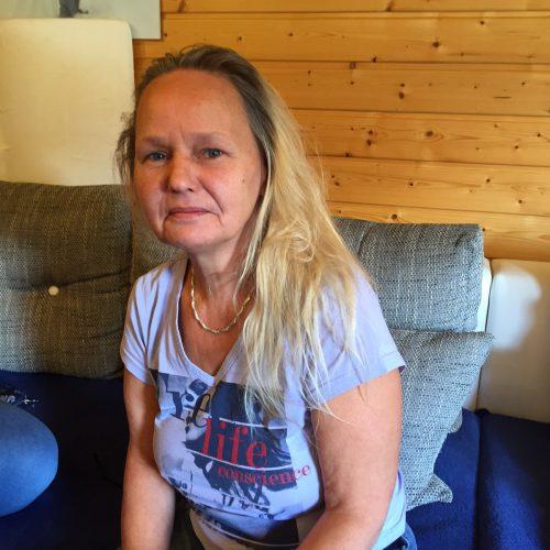 Trotz Handicap meistert Christine Hilbrandihr Leben bravourös. VN/kum