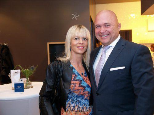 Unter den Gästen: Gernot und Doris Schuller (Ivoclar).