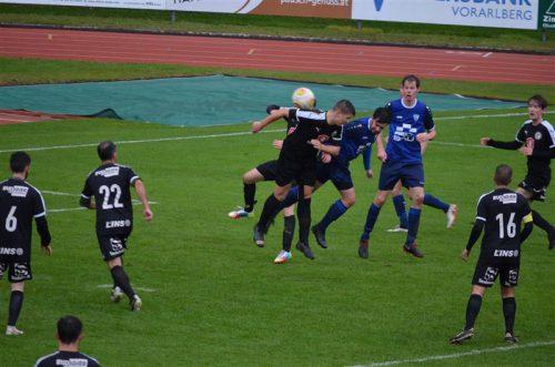 Verdienter 4:1 Sieg der Rätia gegen Au.FC Fohrenburger Rätia Bludenz