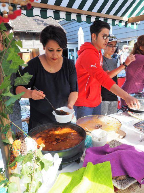 Viele kulinarische Schmankerln werden beim Markt der Kulturen geboten. STB