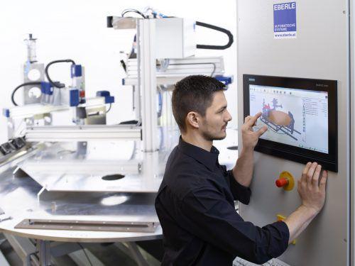 Viele Vorarlberger Unternehmen nutzen die Chancen der Digitalisierung. Sie werden dabei durch unterschiedlichste Initiativen unterstützt. Eberle Automatische Systeme