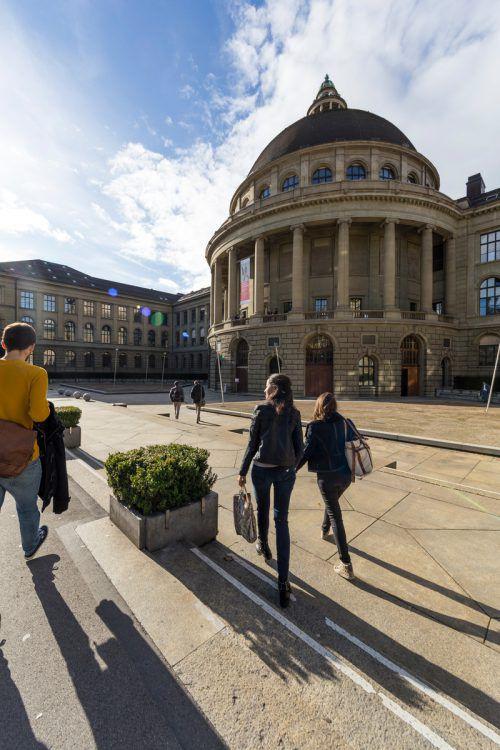 Vier Professoren der ETH Zürich referieren in Bregenz. ETH/Bella