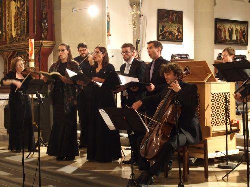 Vor fünf Jahren wurde der Bach-Kantatenzyklus gestartet. Mittlerweile reist das Publikum von weither zu den Konzerten an.