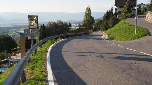 Voraussichtlich im Frühjahr sollen die Bauarbeiten an der Laternser Straße durch Batschuns starten. ceg