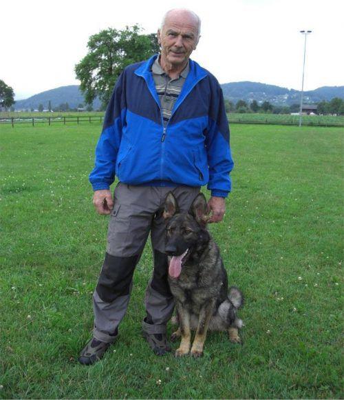 Willi Märker ist Vizepräsident des Hundesportverbandes. märker