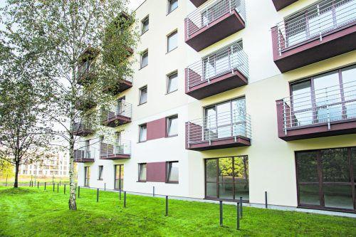 Wohnungen in gefördert errichteten Mietwohngebäuden mit mehr als zweiMietgegenständen fallen unter die Vollanwendung des MRG.foto: shutterstock