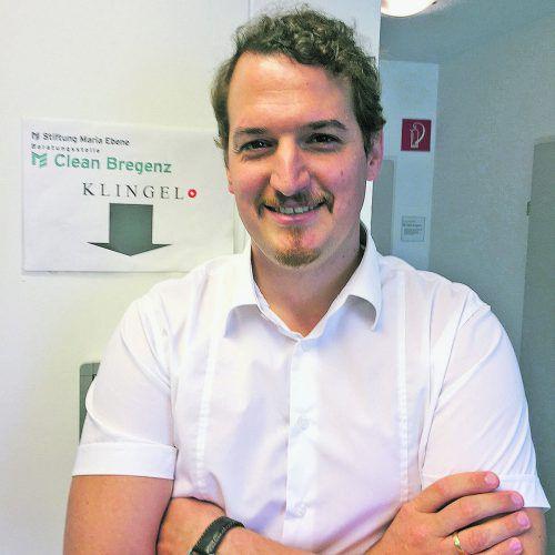 Wolfgang Grabher suchte eine neue berufliche Herausforderung. VN/kum