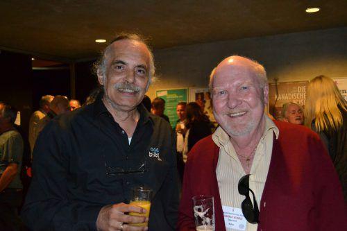 Wolfgang Tschallener und Harald Scholz lobten die professionelle Ausrichtung.