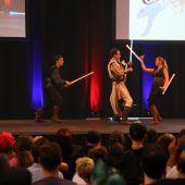 Schaulaufen der Comic- und Fantasyfans