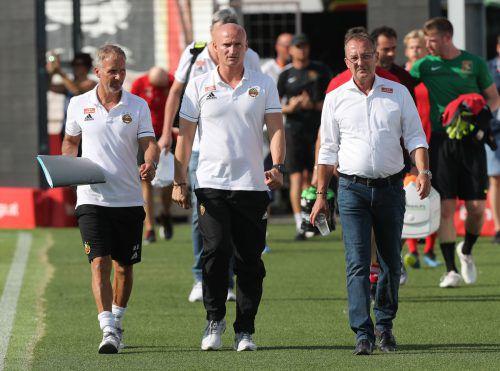 Zwei Jahre arbeitete Martin Bernhard für den SK Rapid.gepa