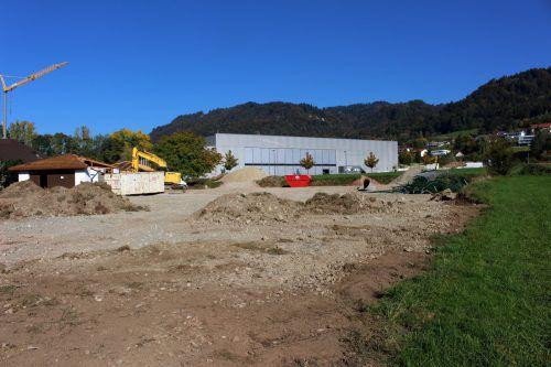 """Abbruch der Tennisanlage in Lochau. Es konnte trotz intensiver Verhandlungen kein """"Ersatzgrundstück"""" gefunden werden. bms"""